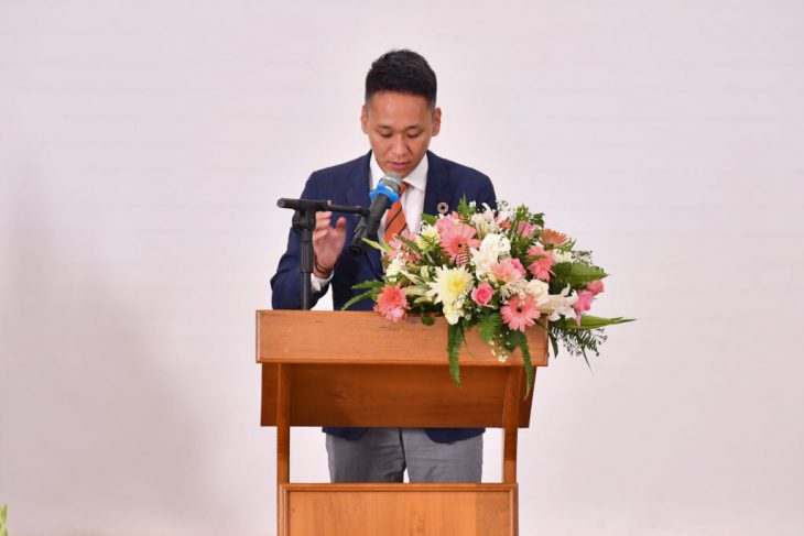 ミャンマー日本大使網本恵介様